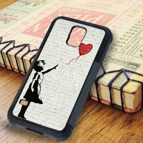 Balloon Girl Samsung Galaxy S5 Case