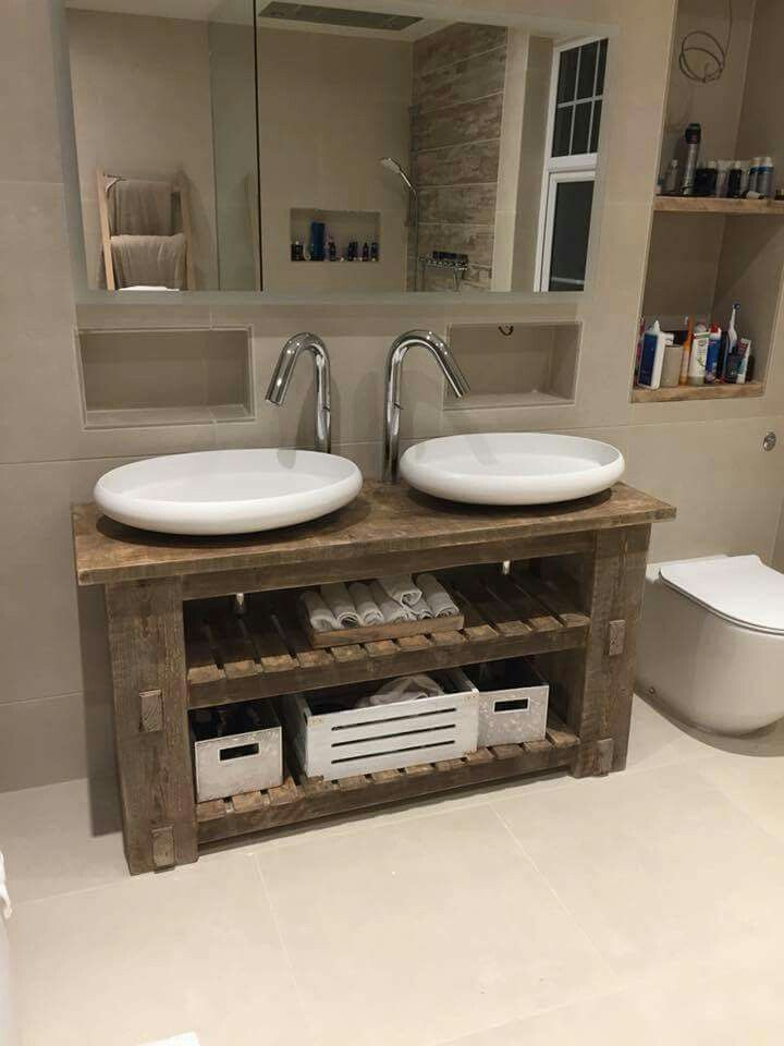 Pin By Sandy Mccormick On Home Ideas Rustic Vanity Vanity Units