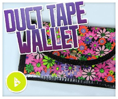 Jamie has tackled a few duct tape DIYs before, and now she's back to demonstrate how to create another awesome duct tape craft. In this episode of Do It, Gurl, Jamie is showing how to make a duct t...