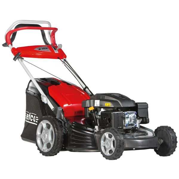 Efco LR53TK Allroad Plus 4 Self Propelled Lawnmower 4 in 1   53-TK Allroad Plus 4 Self-propelled Lawn Mower  Part of Efco's 'Allroad Plus 4 amazing range of lawnmowers,  - Side eject clippings, Mulch, bag or just simply drop them!    These models feature ergonomically designed comfort plus features such as the operating controls, easy to use 70 Litre grass collector with full indicator, easy carry handles, centralised height of cut control   The cutting deck is made of specially designed…