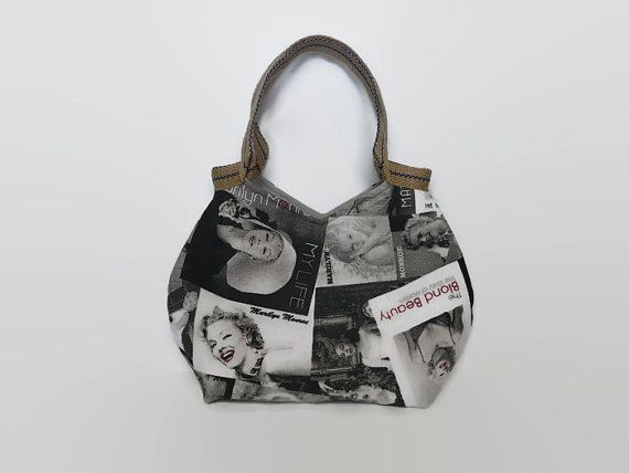 Spring is in the air! Enjoy 15% your order with coupon code - WAITINGFORSPRING2015 Hippe, trendy schoudertas,   Marilyn Monroe print