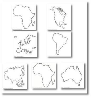 Les continents -