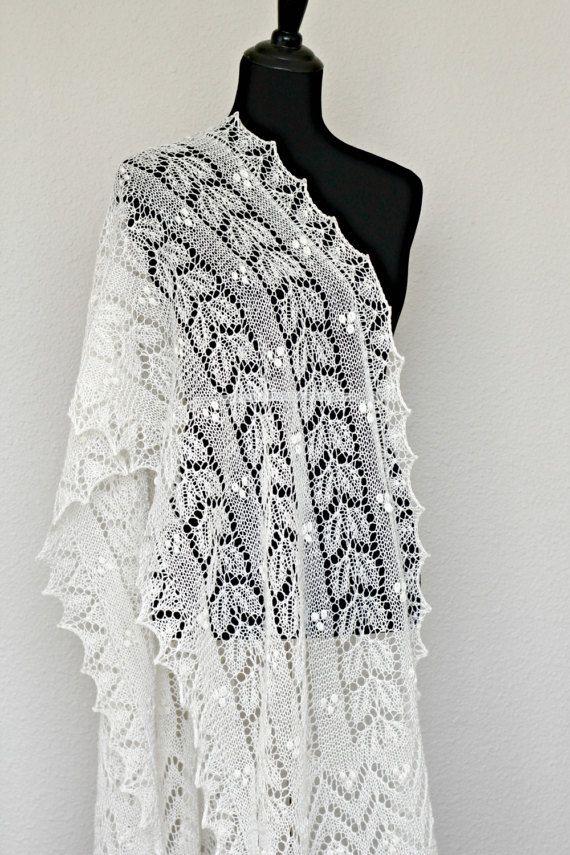 Wedding #shawl, bridal shawl, bridal stole, lace scarf, spring scarf, wool shawl gift for her, bridesmaids shawl #accessories #etsy