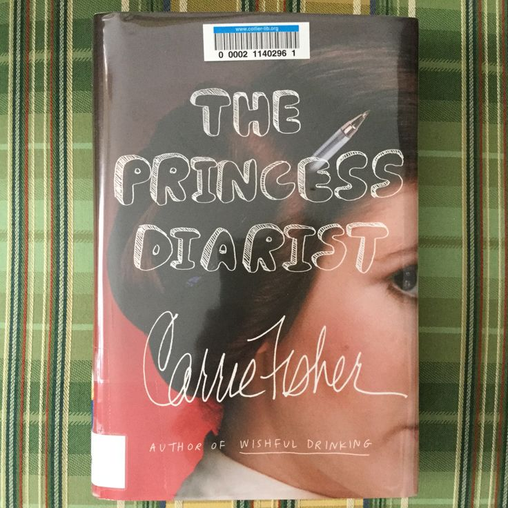 """The Princess Diarist by Carrie Fisher - Carrie's diaries and thoughts about being cast as Princess Leia in a """"little space movie"""" in 1976. May her memory be eternal."""