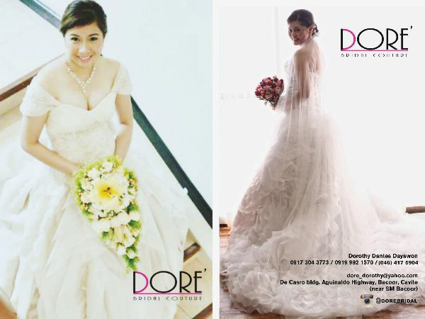 Starts planning your wedding? Choose Dore' Bridal Couture. FLIP through the Revised edition of WEDDING DIGEST LUXE for LESS ISSUE. Now available for free browsing at www.weddingdigest.com.ph  #WeddingDigestPh #emagazine #LuxeforLess #weddings #iloveweddings #designer #dorebridal