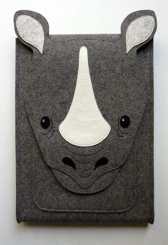 Rhinoceros MacBook Pro 13 inch case Laptop bag by BoutiqueID