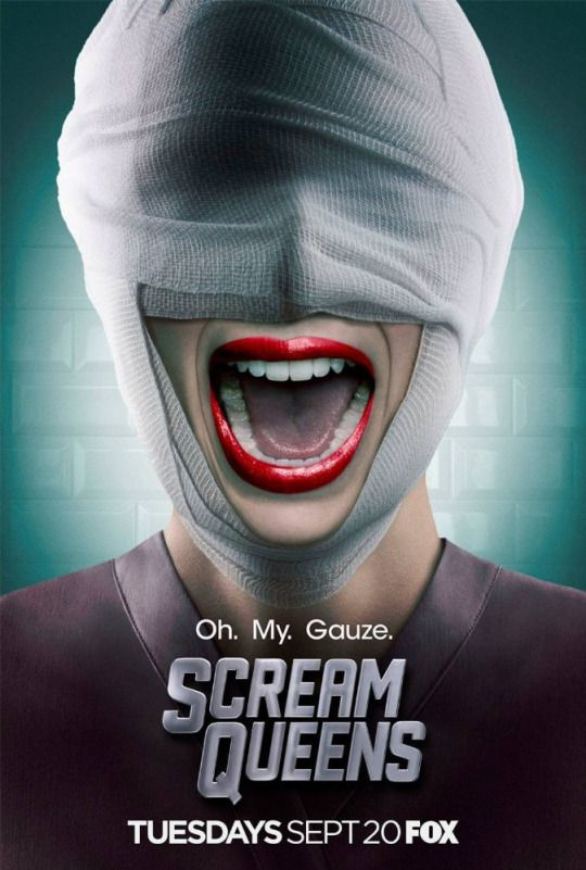 El Puffs. Oh My Gauze. Poster #ScreamQueens temporada 2