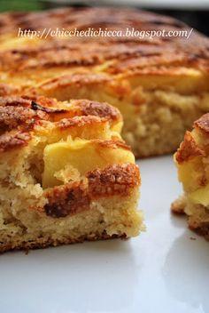torta soffice di mele e yogurt