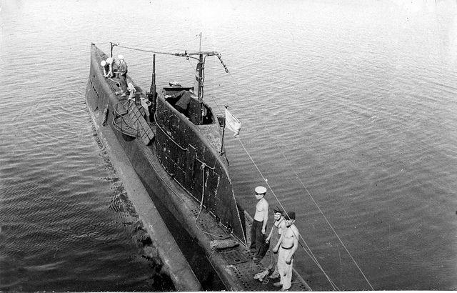 Black Sea fleet submarine M (Malyutka) class M-55  mooring  up at Sevastopol. by tormentor4555 on Flickr.