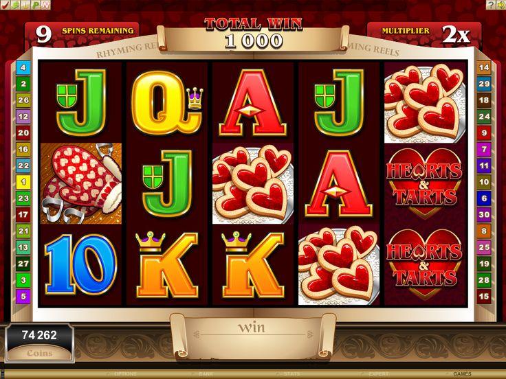 Hearts & Tarts Slot Machine, Casinò online Voglia di Vincere #Slot, #Slotmachine, #Vogliadivincere, #Casinòonline