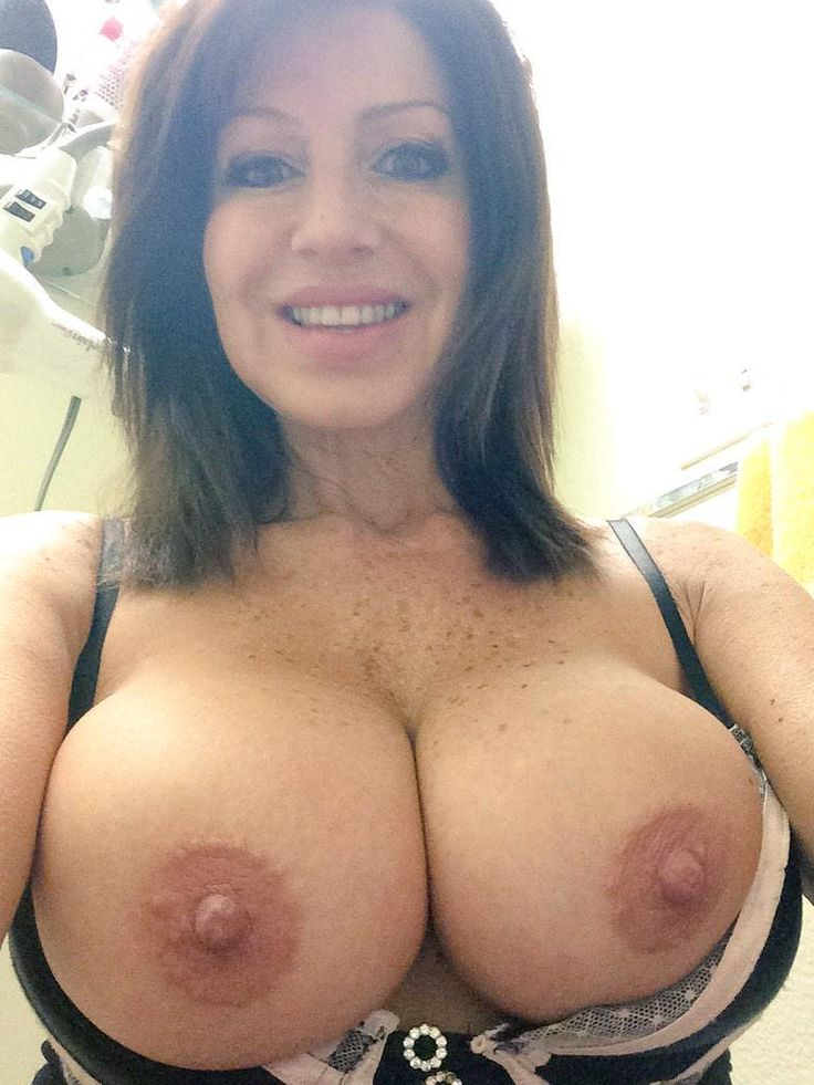 Wit swinging mature boobs sexy