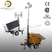 Solar Powered Light Tower Generator. Price:$5000 #solarpoweredgenerator