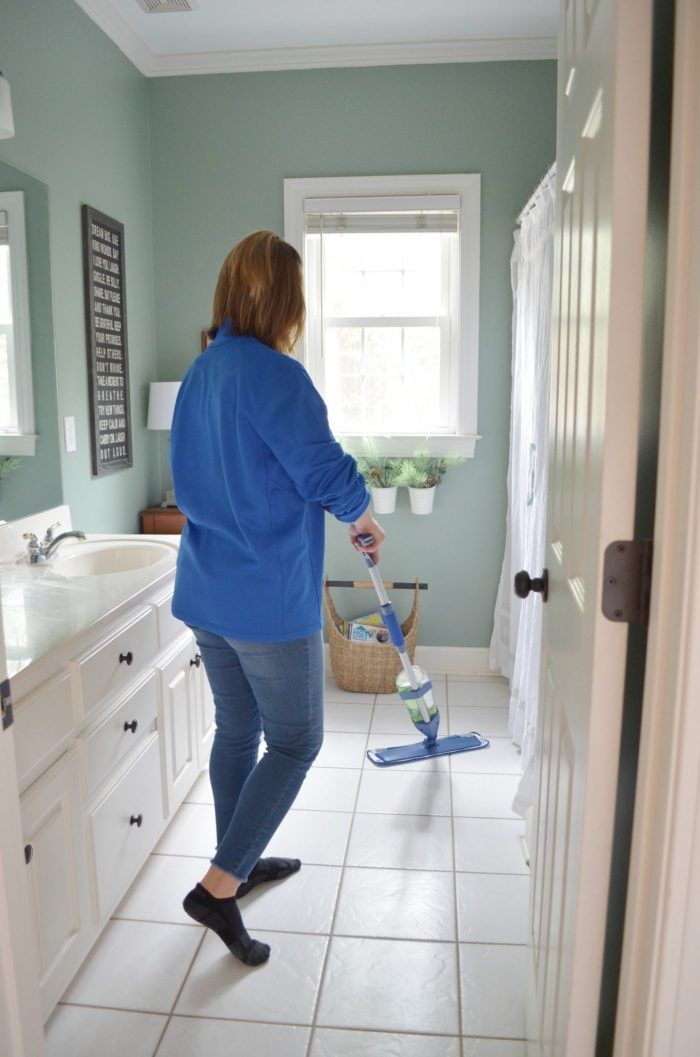 Simple Cleaning Habit For Tile Floors At Home With The Barkers Tile Floor House Cleaning Tips Easy Cleaning