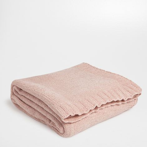 PLAIN-COLORED CHENILLE BLANKET - Throws - Bedroom - HOME COLLECTION AW15 | Zara Home United States