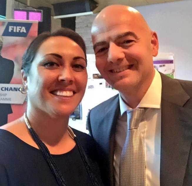 Sarai Bareman liderará a partir de ahora el fútbol femenino