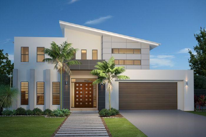 GJ Gardner Home Designs: Twin Waters 300 - Facade Option 1. Visit www.localbuilders.com.au/home_builders_western_australia.htm to find your ideal home design in Western Australia