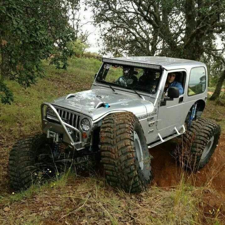 Jeep Wrangler Tj Showing Some Amazing Flex Jeep