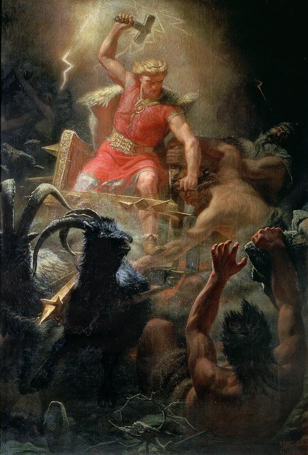 Резултат слика за thor mitoloji