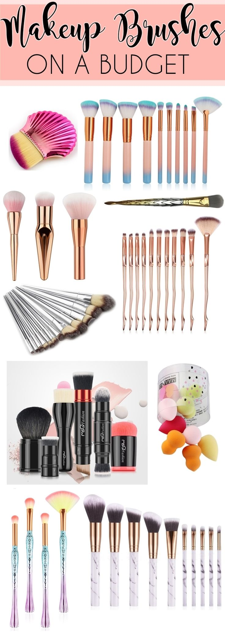 eBay Bargains Updated Budget Makeup Brushes Makeup
