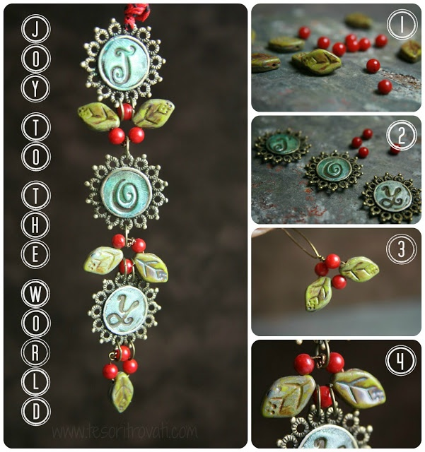 Art Bead Scene Blog: On the 8th Day of Christmas: J-O-Y To The World