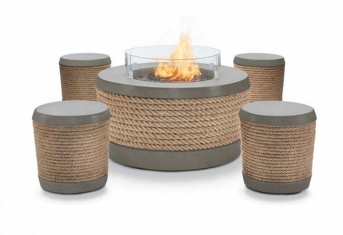 Loop Stool: Wrapped Up in Good Design - Brown Jordan Fires