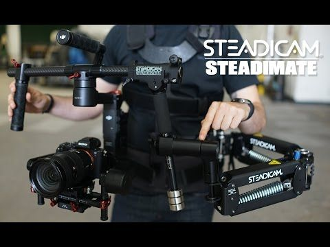 Steadimate 5-axis Motorized Gimbal Stabilizer System | Tiffen