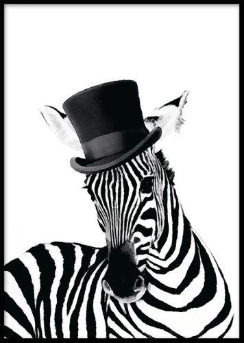 Zebra tavla i grafisk design.Posters i strl 21x30, 30x40 och 50x70cm. www.desenio.se