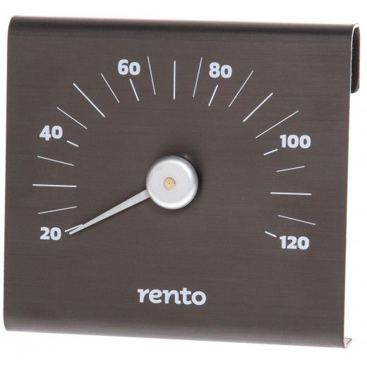 Termometer Tjärbrun