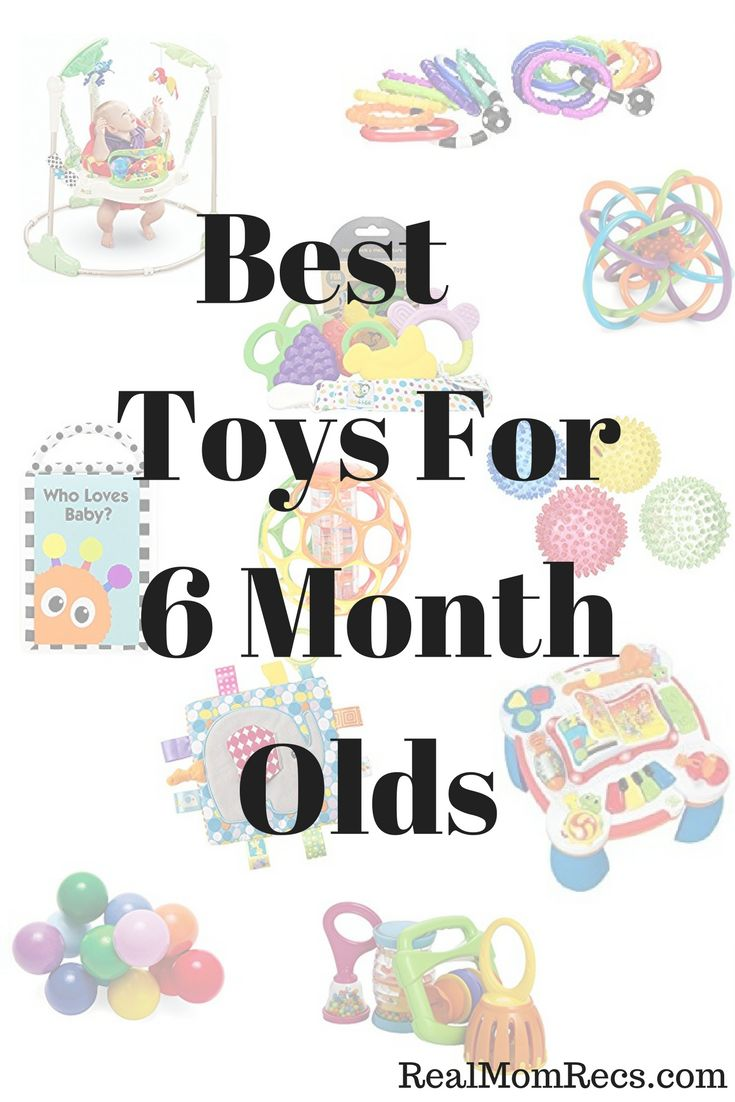 Best Toys for 6 Month Olds / Babies favorite toys / Go-to gifts for baby / Must have toys for 6 month olds