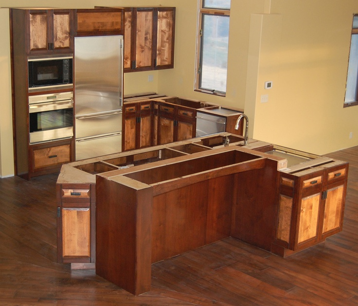 78 Images About Kitchen On Pinterest Large Kitchen Island Designs, Islands And Alder Cabinets photo - 8