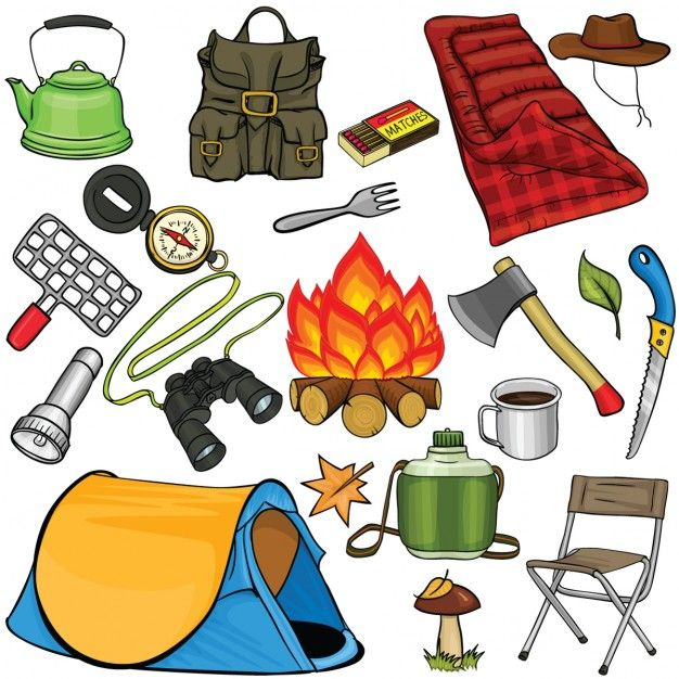 Download Camping Elements Cartoon For Free Camping Art Family Tent Camping Tent Camping
