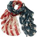 Americana Vintage Flag Scarf   Legendary Whitetails. Pretty..I would feel like Q from Impractical Jokers