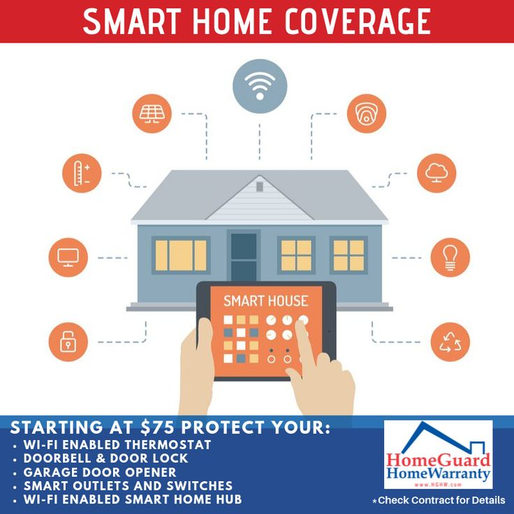 Homeguard Homewarranty Knows That California Homeowners Are Investing In Smart Home Tech To Improve Security Convenie Home Protection Smart Home Home Warranty