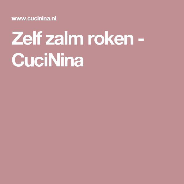 Zelf zalm roken - CuciNina