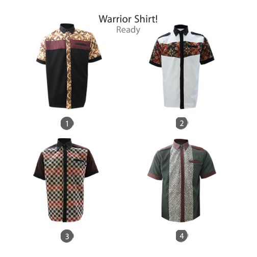 Warrior Shirt  #kemejabatikmedogh  http://medogh.com/baju-batik-pria/kemeja-batik-pria