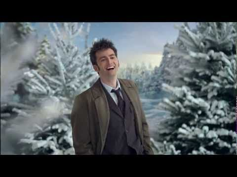 Doctor Who - BBC Christmas Ident 2009 with David Tennant. I watch this every year :)