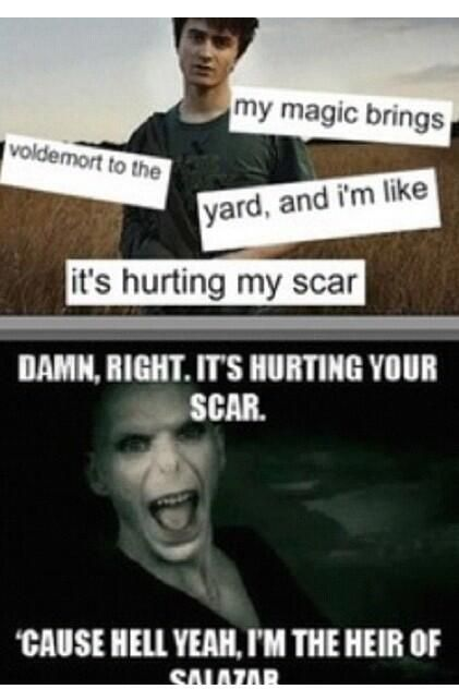 Harry Potter memes are the best--now this song will be in your head ALL DAY