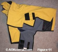 How to make a dog coat from a people coat - I think I can do this!