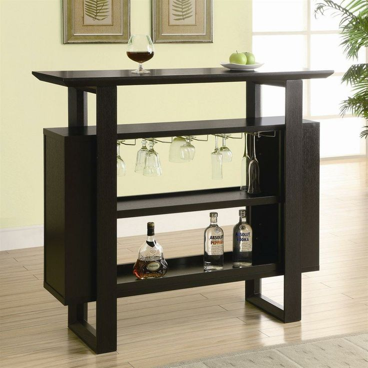 Monarch Bar Unit With Bottle And Gl Storage Cuccino Upgrade Your Home This Unique Rich Open Display étagère A Great Spot For
