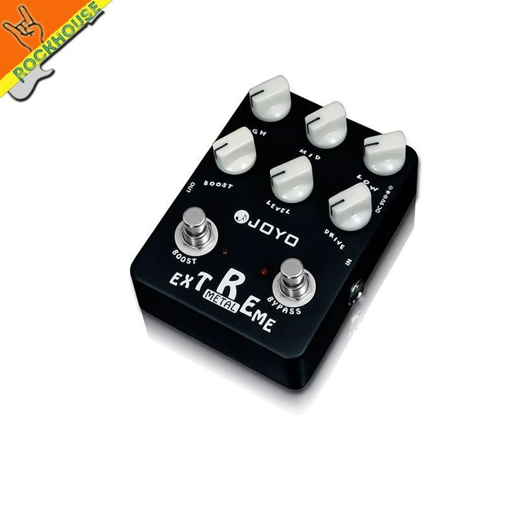 [Visit to Buy] JOYO Extreme Metal Distortion Guitar Effects Pedal high-gain Heavy Metal Pedal Stompbox 3 Bands EQ True Bypass Free Shipping #Advertisement