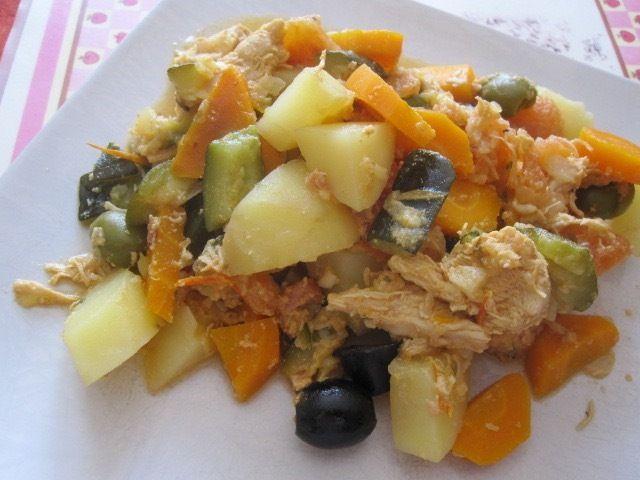 Mijoté de poulet aux légumes