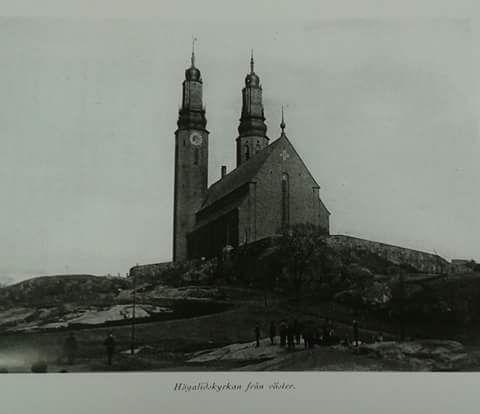Högalid kyrkan Stockholm 1923