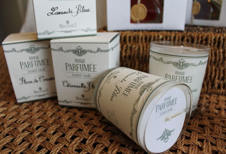 Prouvenco scented candles from Provence in the south of France. Perfumes created iin Grasse.  www.frenchaffair.com.au