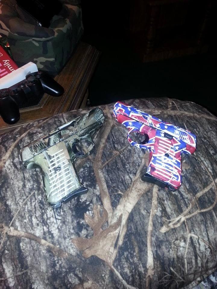Dipped Camo And Rebel Flag Guns Camo Pinterest Guns