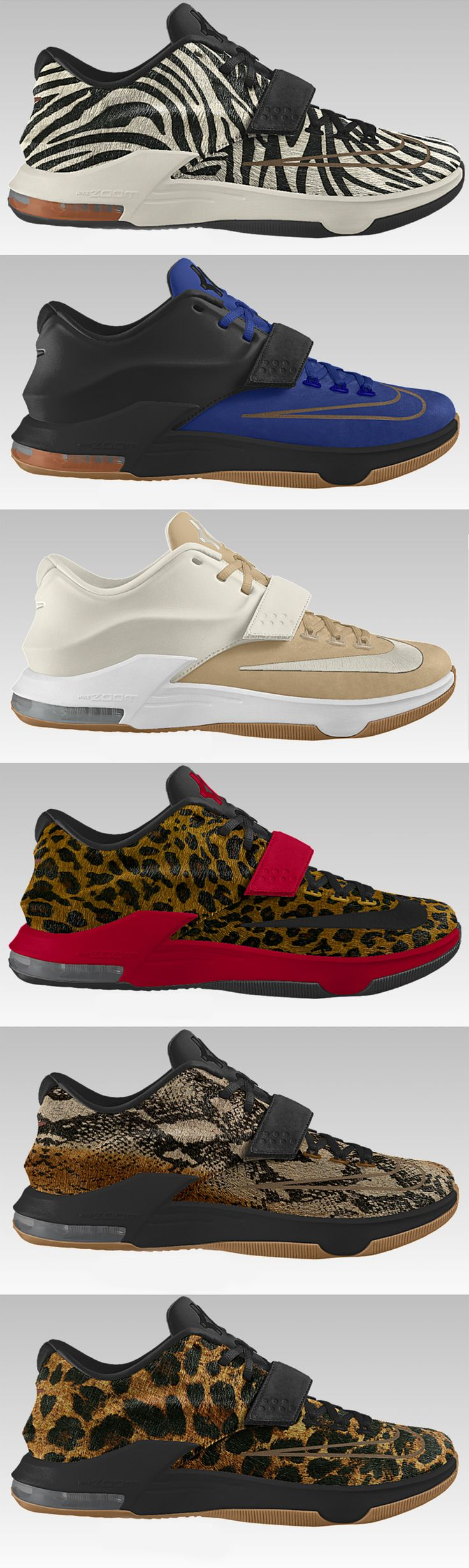 Nike iD adds KD 7 EXT (Examples)