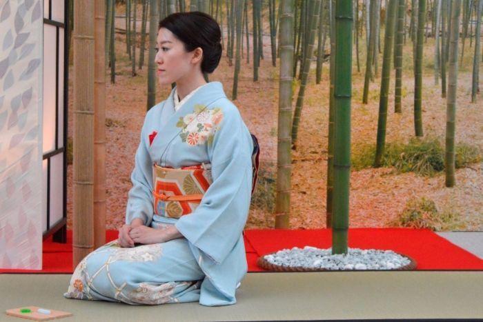 La cerimonia del tè al padiglione giapponese di Expo 2015