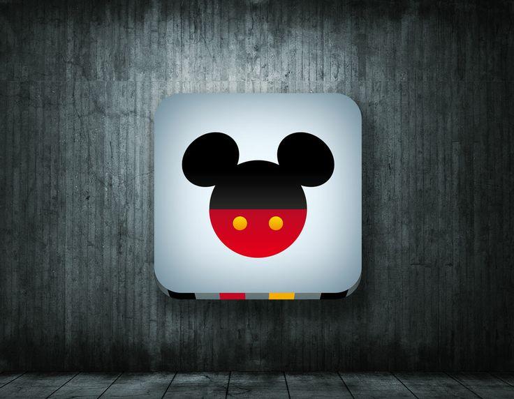 Mickey icon by www.gloo-studio.com