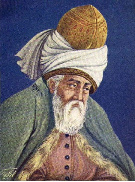 "Rumi (1207-1273) - The Persian mystic Jalal-e-Din Mohammed Molavi Rumi authored numerous love poems, sayings, and the ""Mathnavi,"" called the Koran of Sufism, which contains 24,660 couplets  in seven books. The Mathnavi discusses metaphysics, religion, ethics, and other topics. He subscribed to the belief that matter, man, and God compose basically a single entity and essence. Historian P.N.K. Bamzai refers to Rumi as ""the greatest Pantheistic writer of all ages."""