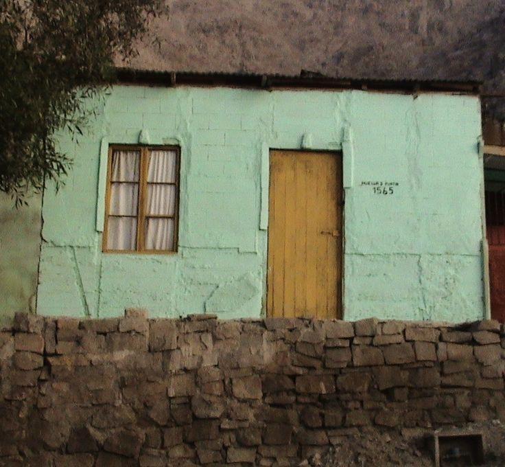 Tradicional casa en el barrio Huella Tres Puntas, en una fotografía tomada en Mayo de 2007.
