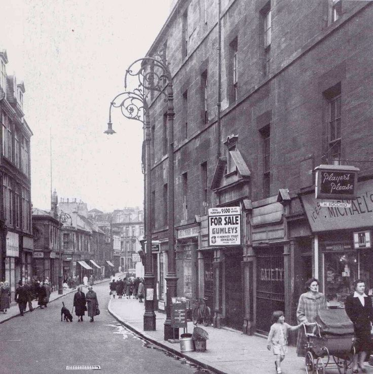 Old Kirkgate leith before it was all demolished